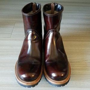 Brunello Cucinelli Ankle Boots Burgundy - Sz 37